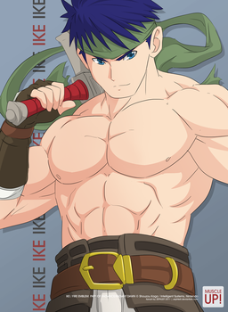 MuscleUp - Ike by zephleit