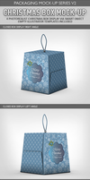 Christmas Box Mock-Up by idesignstudio