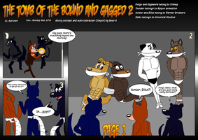 The tomb of bound and gagged 2 page 1 by marlon94