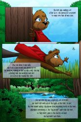 LGA Issue One Page Three by MJValle