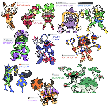 Character Design Prompts (August 2016) by Shenaniganza