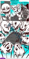 Failed Genocide! Undertale Gauntlet Throne Pt 8 by Dark-Merchant