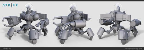 Crabtank Vex - High Poly by Dvolution