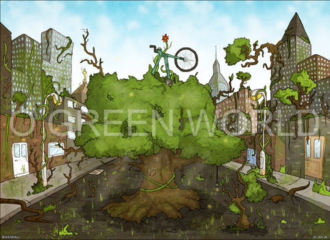 O GREEN WORLD by JKendall