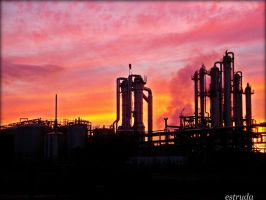 Industrial Skyline by Estruda