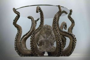 Bronze Octopus Front by AlexCFriend