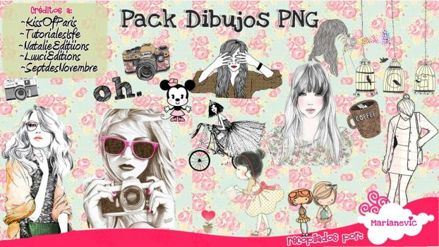 Pack Dibujos PNG by Marianevic
