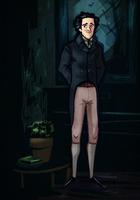 Jonathan Strange by Grrrenadine