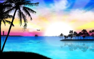 Tropical Heat by kandiart