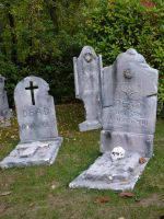 Tombstones by eugeal-stock