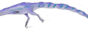 Alternate Sinosauropteryx by Qilong