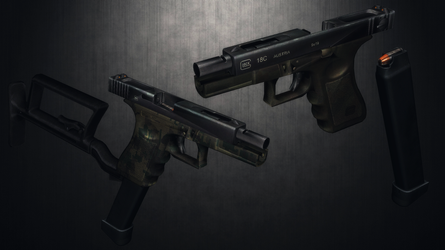 [MMD] G18C for DL by AbyssLeo