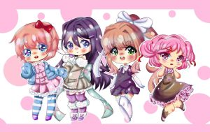 doki doki literature club by BurendaSan
