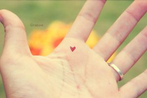 love in the palm of my hand by raeuve