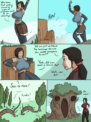 Giga Korra and Asami pt1 [commission] by caiman2
