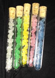homemade rock candy in a vile by bloodymensahara