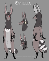 Ophelia Character Sheet by Maneshi