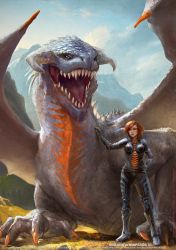 Dragonwhisperer III by fantasio