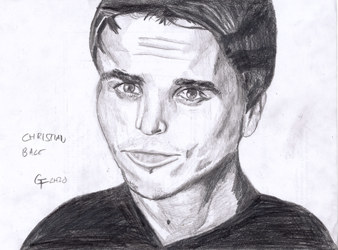 Christian Bale by GreenFoxel