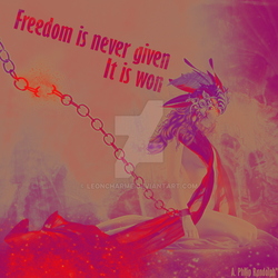 Freedom (print) by LeonCharme