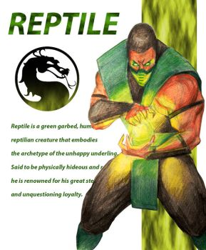 Reptile biocard by PitBOTTOM