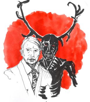Hannibal: the wendigo by jainas