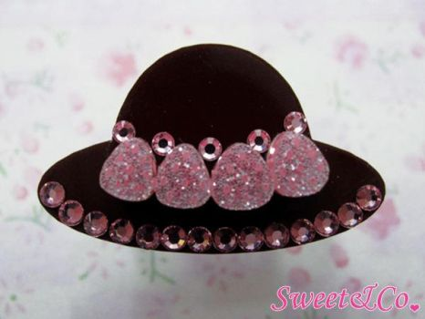 Strawberry Choco Hat Ring by SweetandCo