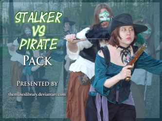 Stalker vs Pirate PACK by themuseslibrary