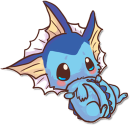 Cute vaporeon by fakeevee