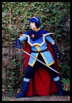 Marth: standing ready by Kinlyu