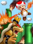 Unexpected Heroes- Toad by Christopher-Stoll