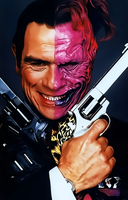 Tommy Lee Jones-Two Face by donvito62