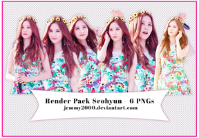 [Render Pack] Seohyun SNSD in BOWP - 6 PNGs by jemmy2000