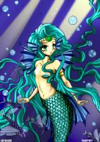 Mermaid Princess by JHTriune