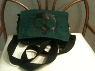 Hero Of Doom Messanger Bag by willowweeping