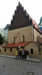 Old New Synagogue in Prague by hippo2