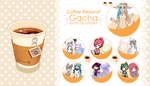 OPEN Gacha Adoptables - Coffee Prize! by LaraLeeL