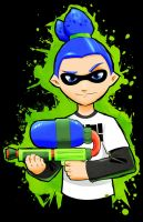 Squid Kid - Splatoon Inkling Boy by Paterack