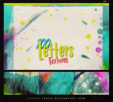 100 Letters Texture Pack #15 by LilithDemoness