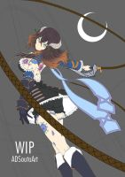 WIP - Miriam, The Crystal Cursed by ADSouto
