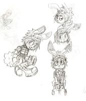 Rudy sketches by cjcat2266