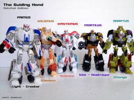 Transformers - The Guiding Hand - Ratchet Edition by jimbox31