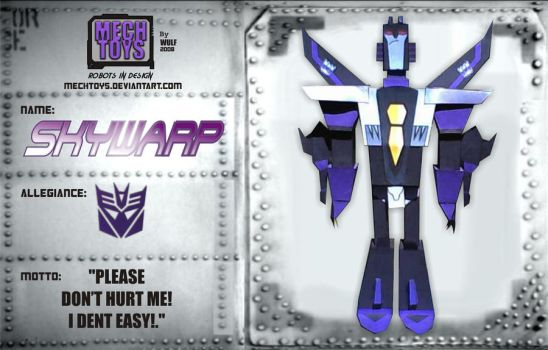 SKYWARP ANIMATED Card by MECHTOYS