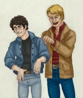 Joking [Starsky and Hutch] by ProfDrLachfinger