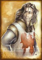 Lancelot of the lake by delfee