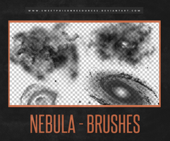 Nebula Brushes | Photoshop by sweetpoisonresources