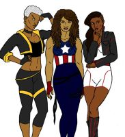 Marvel Black Girls Rock by tapwater86