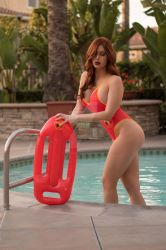 Baewatch Jessica Rabbit by irelandreid