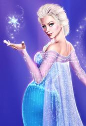 Queen of Arendelle (close up) by SimonPovey