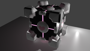 Companion Cube by Izzi1313